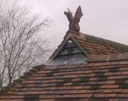 keystone dragon hip roof finial thumb