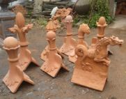 roof finials reclamation yard