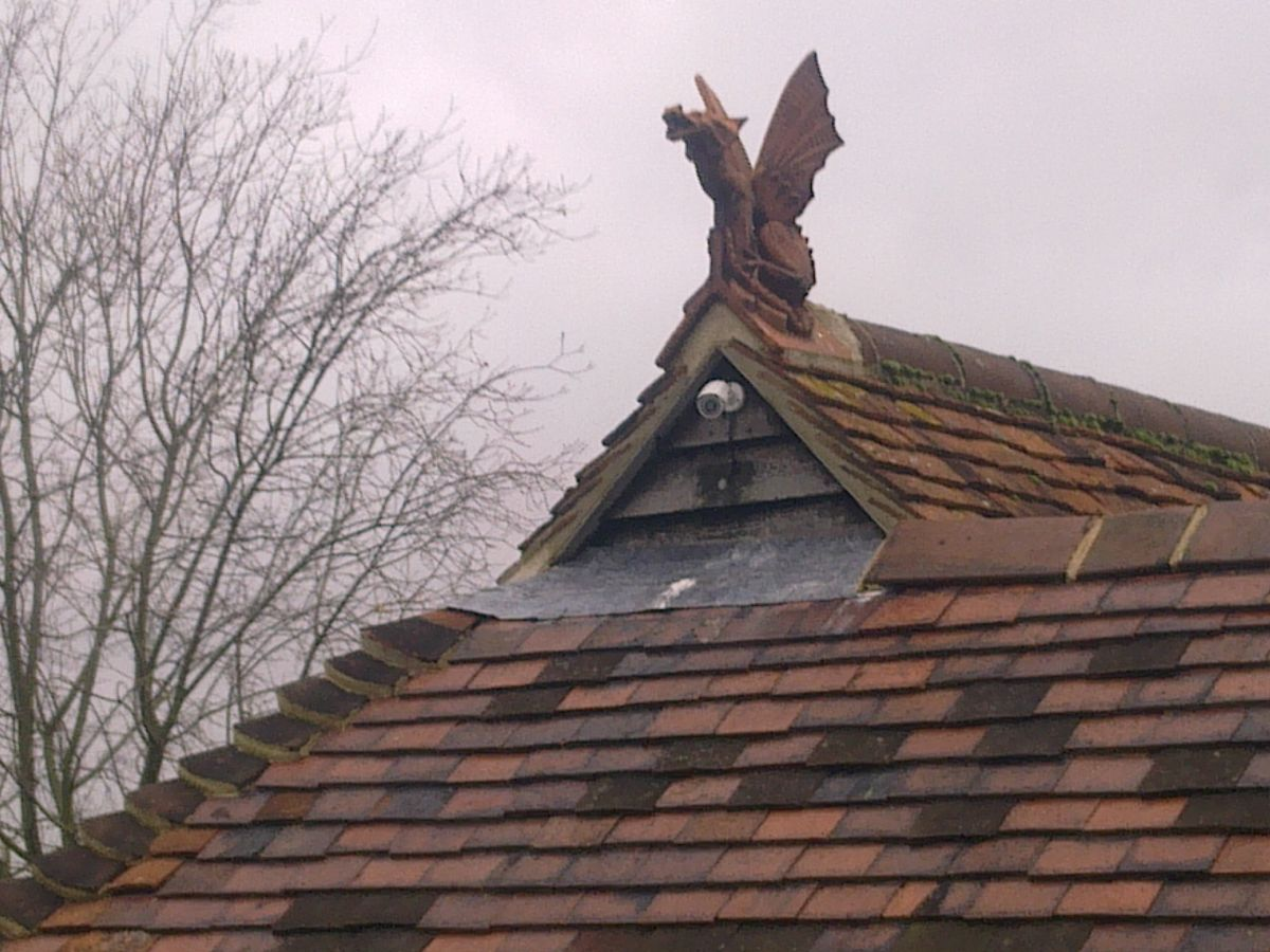 dragon on gable end
