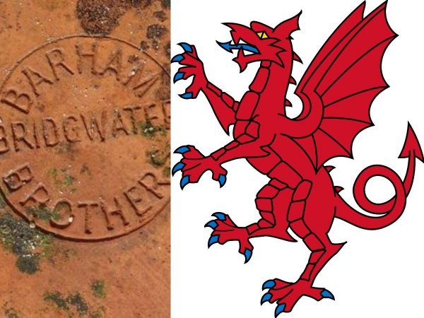 Somerset dragons and special relevance to dragon finials